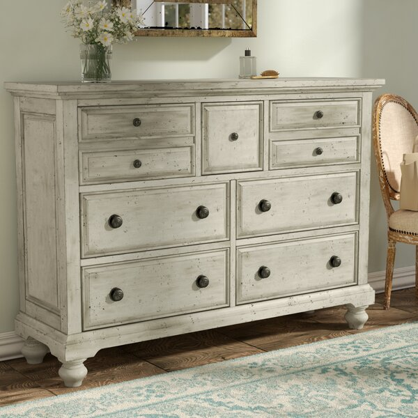 Philomena 7 Drawer Double Dresser By Lark Manor by Lark Manor Top Reviews