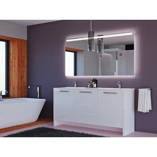 Price comparison Nico 63 Double Bathroom Vanity Set ByOrren Ellis