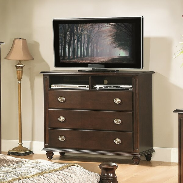 Great Deals Daley 3 Drawer Media Chest