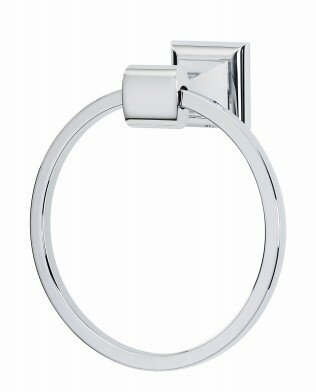 Manhattan Wall Mounted Towel Ring by Alno Inc