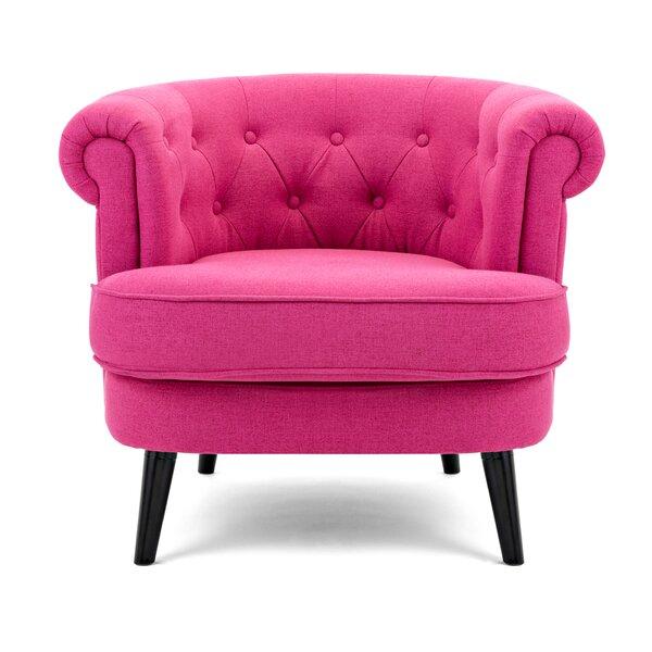 Derrill Barrel Chair by House of Hampton