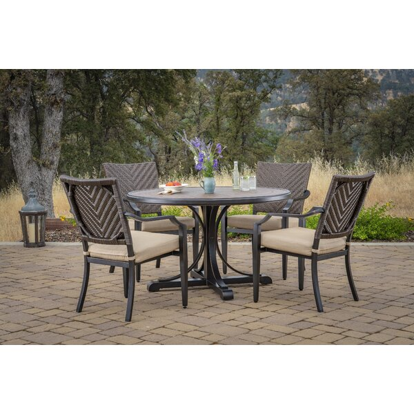 Bonny 5 Piece Sunbrella Dinning Set By Bloomsbury Market