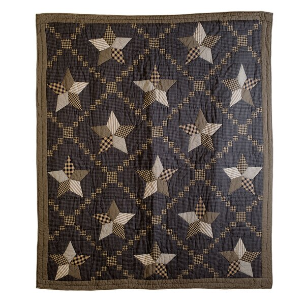 Saco Star Cotton Throw by August Grove