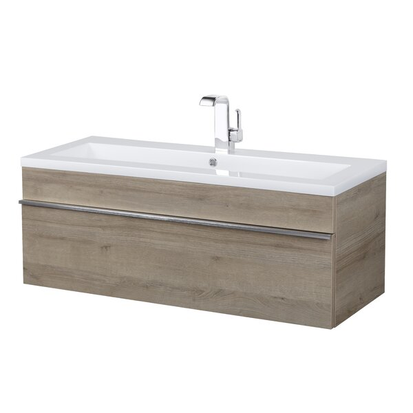 Trough 42 Wall Mounted Single Bathroom Vanity Set by Cutler Kitchen & Bath