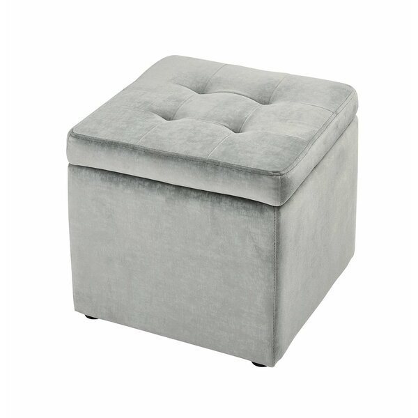 Seabrook Tufted Storage Ottoman By Everly Quinn