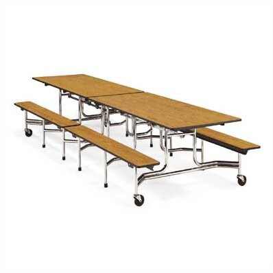 MT Series Rectangular Cafeteria Table by Virco