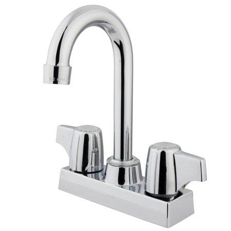 Vista Double Handle Kitchen Faucet by Kingston Brass