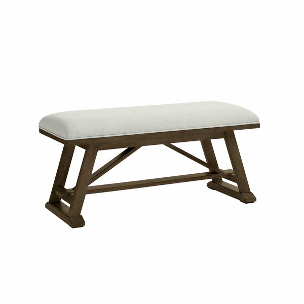 Chelsea Square Upholstered Bench by Stone & Leigh™ Furniture