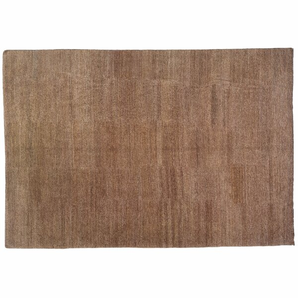 One-of-a-Kind Hand-Knotted Light Brown 9'2 x 13'5 Hemp Area Rug