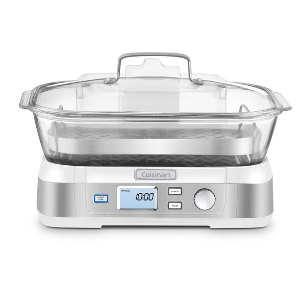 Cook Fresh Digital Glass Food Steamer by Cuisinart