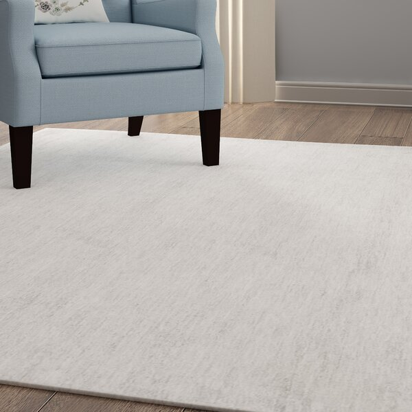 Goldston Hand-Woven Medium Gray Area Rug by Alcott Hill