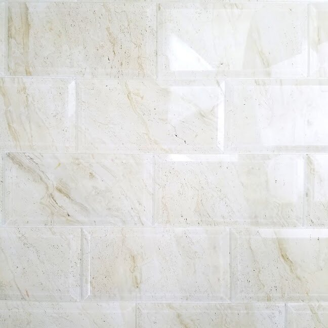 Beveled Subway Tile 4x8 Techieblogie Info White 4 215 8 Tiles Home Decorating