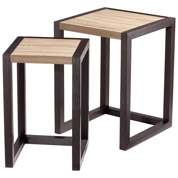 Check Price Becket 2 Piece Nesting Tables