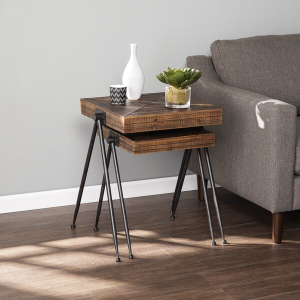 Endsman 2 Piece Nesting Tables By Williston Forge
