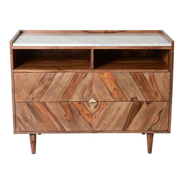 Patrica 2 Drawer Cabinet by Corrigan Studio Corrigan Studio