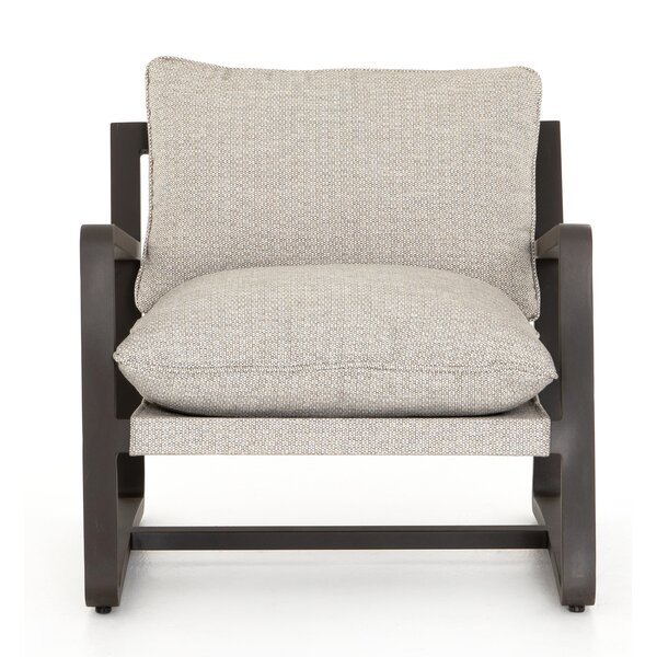Franko Lane Patio Chair with Cushions by Bungalow Rose