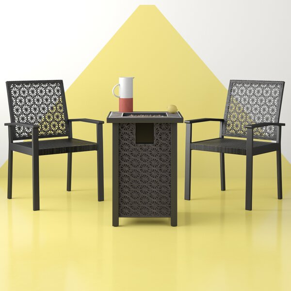 Camarena 3 Piece Seating Group by Hashtag Home