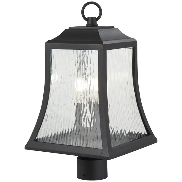 Dunton Outdoors 3-Light Lantern Head by Charlton Home