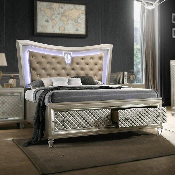 Hollar Upholstered Storage Platform Bed by Mercer41