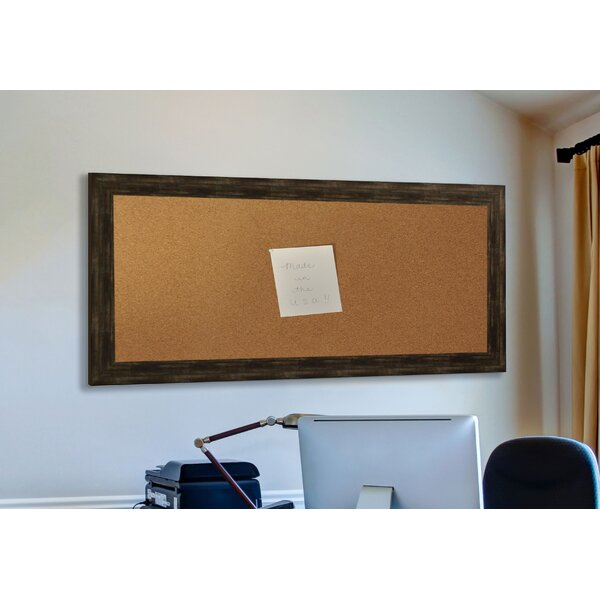 Madilyn Nichole Brushed Classic Wall Mounted Bulletin Board by Rayne Mirrors