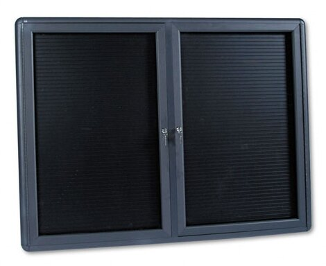 Enclosed Magnetic Letter Board, 36 x 48 by Quartet®