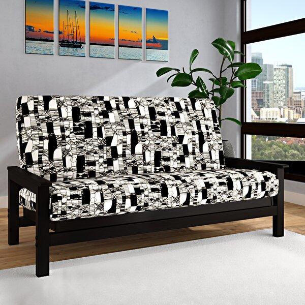 Jayla Box Cushion Futon Slipcover By Brayden Studio