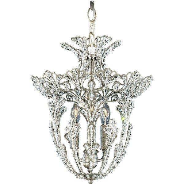 Rivendell 3-Light Crystal Pendant by Schonbek