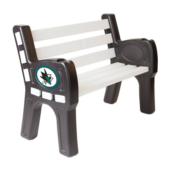 San Jose Sharks Plastic Park bench by Imperial International