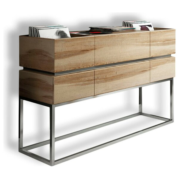Harwinton Multimedia Media Shelf By Brayden Studio