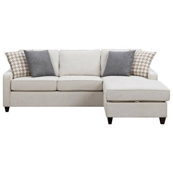 Tishie Reversible Sectional By Winston Porter