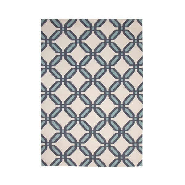 Colesberry Teal/Beige Area Rug by Ivy Bronx