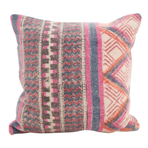 Redden Bohemian Mix Down Filled Throw Pillow by Bungalow Rose