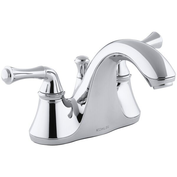 Forte Centerset Bathroom Faucet with Drain Assembly by Kohler