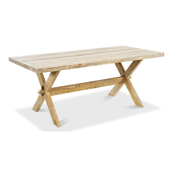 Garrity Solid Wood Dining Table by Gracie Oaks