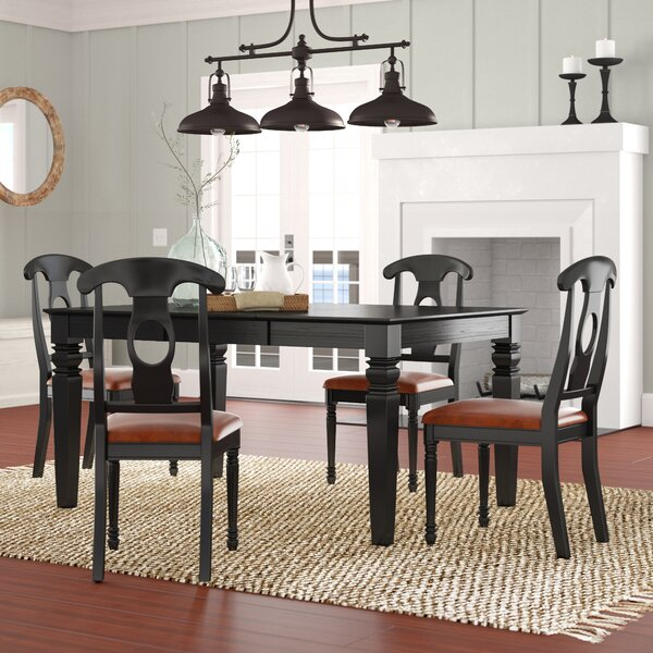Pennington Traditional 5 Piece Dining Set By Beachcrest Home Spacial Price