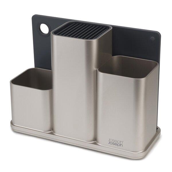 Counter Store Kitchen Utensil Flatware Caddy Set by Joseph Joseph