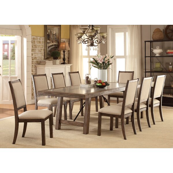 Shelby 9 Piece Dining Set by Canora Grey