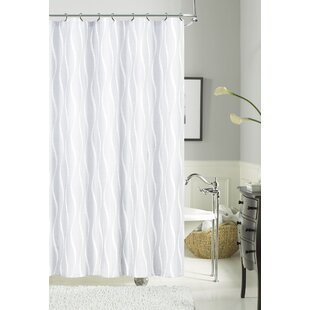 Looking for Delacruz Morocco Textured Fabric Shower Curtain ByHouse of Hampton