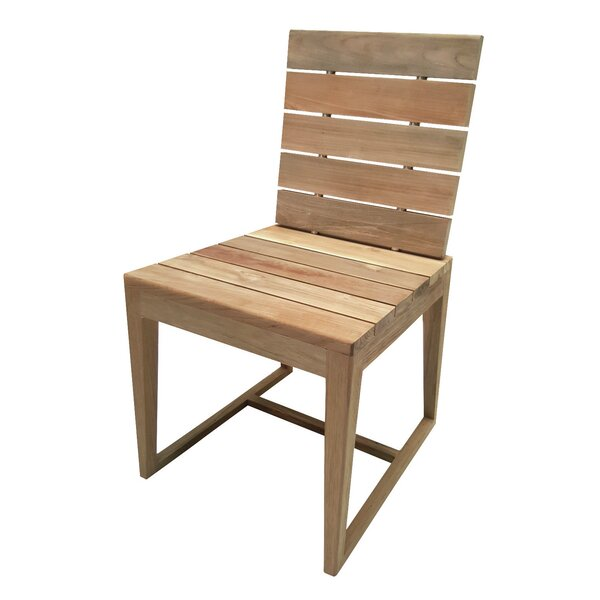 Perpetual Teak Patio Dining Chair by Seasonal Living