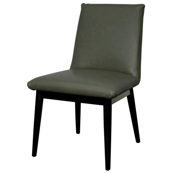 Braeswood Bonded Leather Side Chair (Set of 2) by Foundry Select