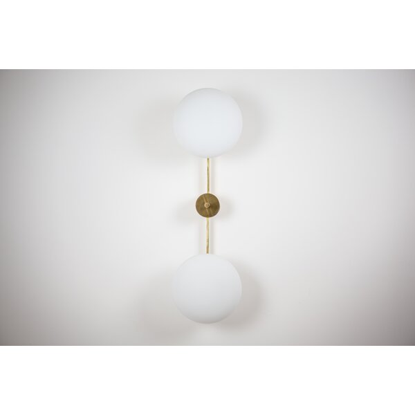 McLoud 2 - Light 11'' Semi Flush Mount By Everly Quinn