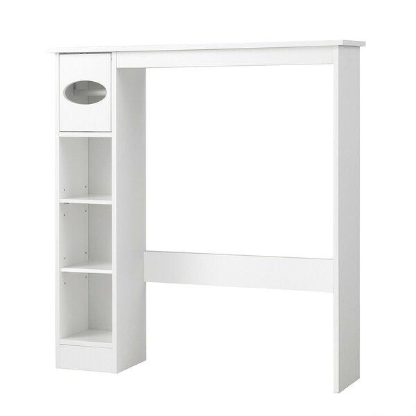 Aylen 30 W x 32 H x 8 D Free-Standing Bathroom Cabinet