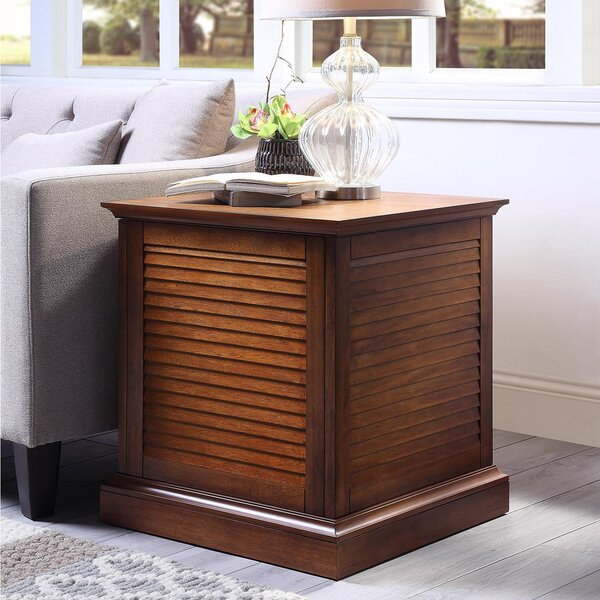 Styer End Table with Storage by Bay Isle Home