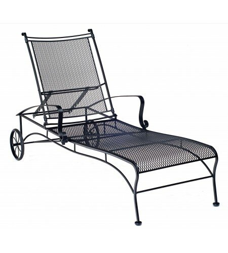 Bradford Reclining Chaise Lounge by Woodard Woodard
