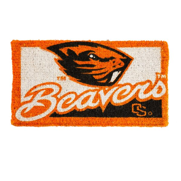 NCAA Oregon State Welcome Graphic Printed Doormat by Team Sports America