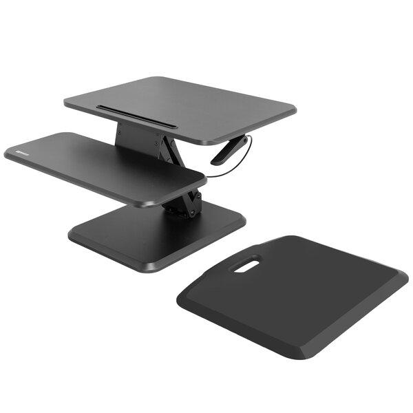 Buckley Height Adjustable 2 Piece Standing Desk Converter Set