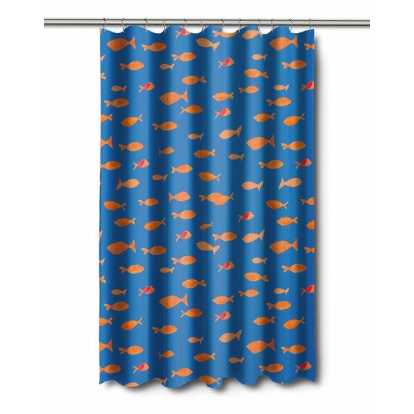Coastal Fish Tank Shower Curtain by Island Girl Home