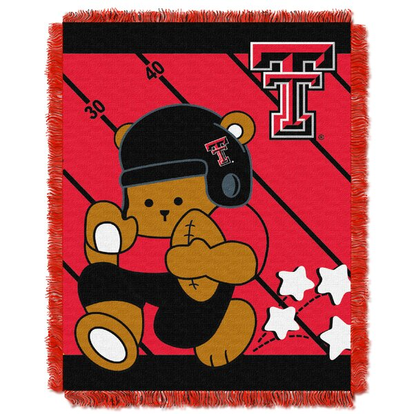 Collegiate Texas Tech Baby Throw by Northwest Co.