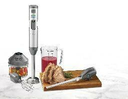 Smart Stick Cordless Hand Blender with Knife by Cu