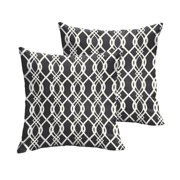 Valier Indoor/Outdoor Throw Pillow (Set of 2) by Darby Home Co